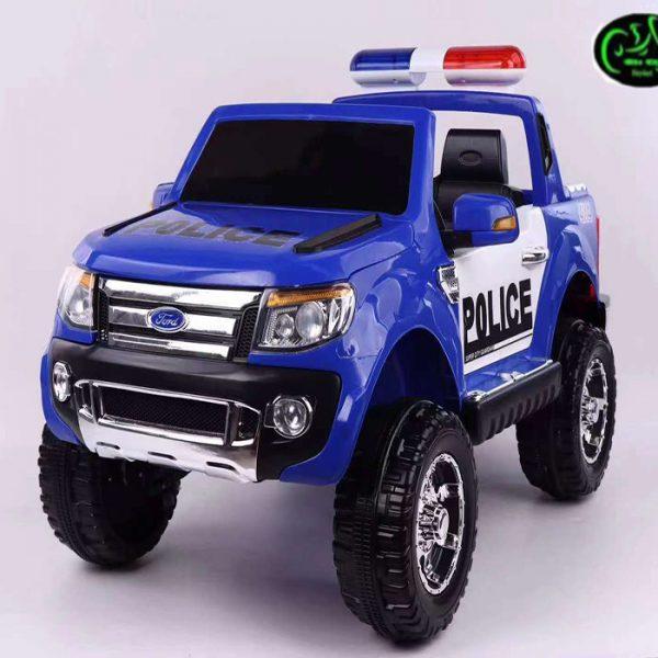 ماشین پلیس آبی